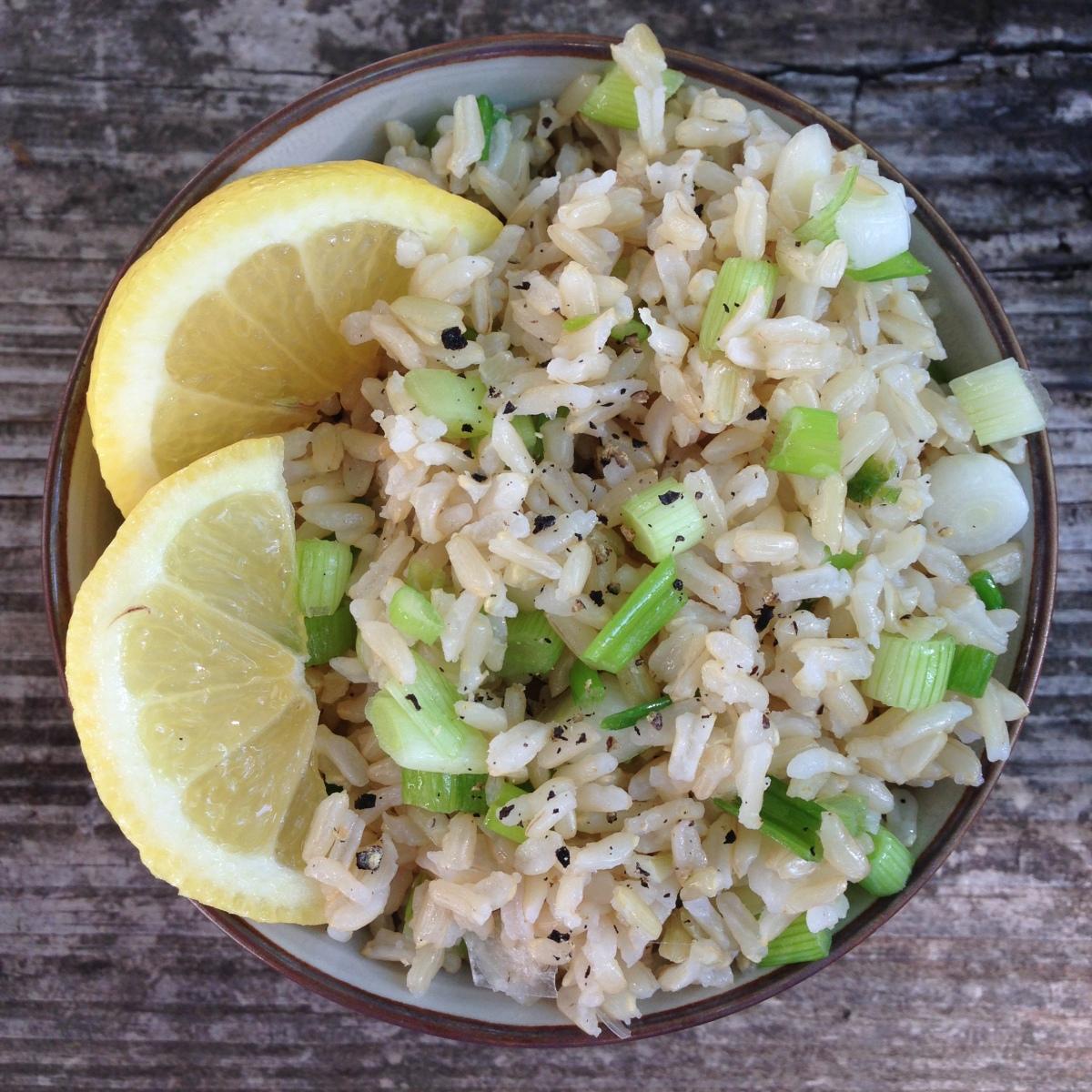 Lemon and Onion Rice